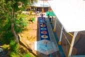 Nuevo gimnasio biosaludable para los habitantes de La Cumbre