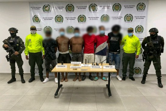 Otra captura de presuntos integrantes de la banda criminal 'La local' en Buenaventura, la segunda en dos semanas