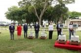 Presidente Ivan Duque entrega 100 ventiladores nuevos en su visita a Cali