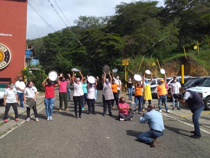 Gremio de restaurantes de Cali volvió a manifestarse para pedir al Gobierno iniciar plan de reapertura