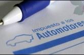 Hasta el 3 de julio podrá realizarse pago de Impuesto Automotor en Valle