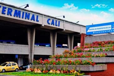 Terminal de transportes de Cali retorna con nuevas medidas de bioseguridad