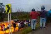 Video muestra momento exacto de explosión de camión cisterna que deja 10 muertos