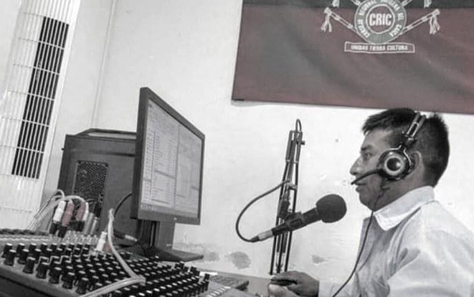 El periodista indígena fue asesinado en un operativo de la fuerza pública en Corinto