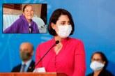 Abuela de la esposa del Presidente de Brasil muere víctima de COVID-19