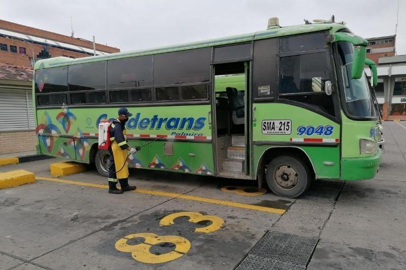 Activan piloto de transporte terrestre entre municipios del Valle
