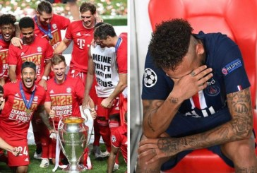 """""""Llorando por mí te vieron"""": al ritmo de Maluma, Bayern celebró la Champions ¿Qué dirá Neymar?"""