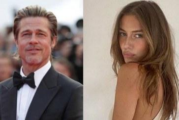 Brad Pitt es captado con su nueva novia, una modelo de 27 años