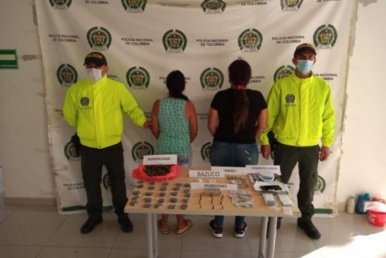 A la cárcel a dos mujeres de la banda 'Los Pava' por distribución de estupefacientes en Valle