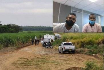 Cárcel para dos presuntos responsables de la masacre en Llano verde