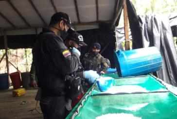 Intervenido laboratorio que producía dos toneladas de droga a la semana en Tumaco