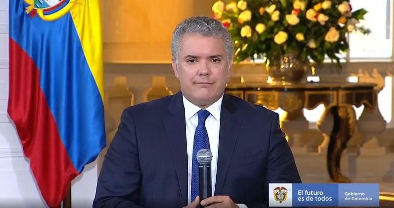 Duque asistirá a ceremonia de posesión de Luis Arce en Bolivia