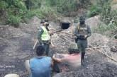 Por explotación ilegal minera en Yumbo fueron detenidas cuatro personas