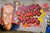 Mural en homenaje a Gabriel Ochoa Uribe se pintó en el Estadio Pascual Guerrero