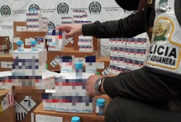Incautados medicamentos para tratamiento de VIH en mal estado en Cali