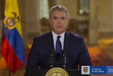"""Duque afirma que en Colombia no hay """"masacres"""" sino """"homicidios colectivos"""""""