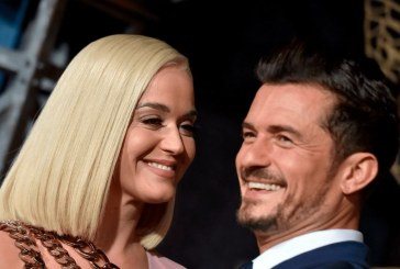 Katy Perry y Orlando Bloom revelan foto de su bebé
