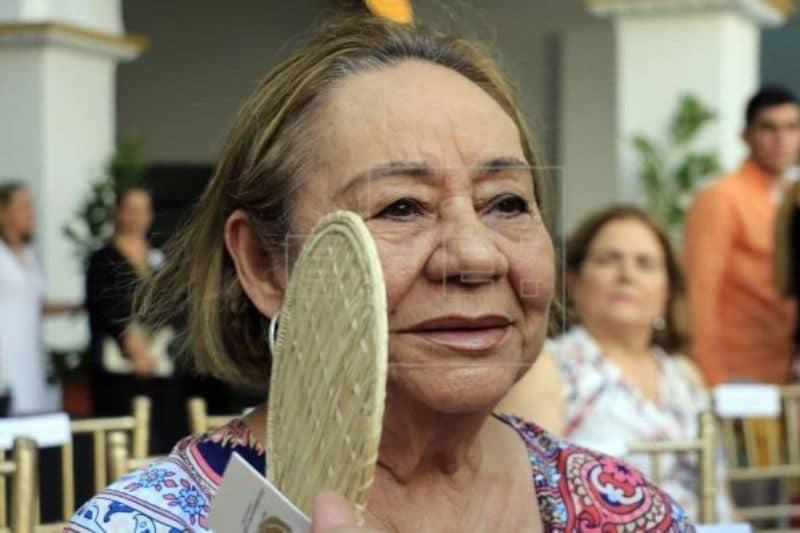 Lamentan muerte de Mercedes Barcha, viuda de García Márquez