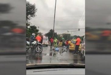 Mañana lluviosa en Cali dejó un motociclista muerto en accidente de tránsito