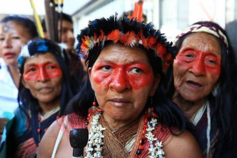 """""""Nada que celebrar"""" dicen los indígenas de Latinoamérica en su día internacional"""