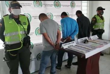 En Cali: Tres hombres son capturados tras hurtar más de 40 millones de pesos
