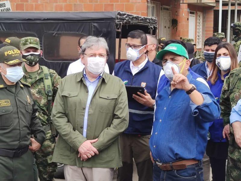 Por explosión en Llano Verde, autoridades y MinDefensa extremarán medidas de seguridad