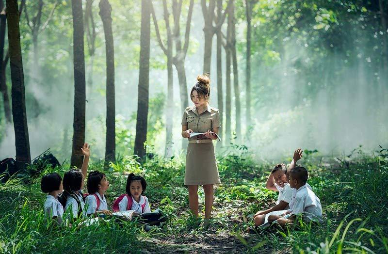 Promueven la enseñanza al aire libre para evitar contagios de covid-19