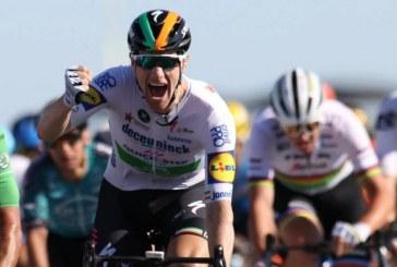 Sam Bennett ganó su primera etapa en el Tour de Francia