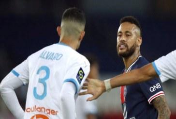 """""""Le pegué por racista"""": Neymar y Álvaro González del Olympique siguieron riña por Twitter"""