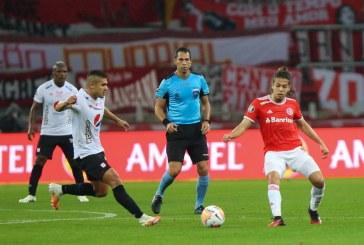 Internacional derrotó al américa 4 a 3 en la reanudación del grupo E de Copa Libertadores