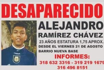 Familiares buscan a Alejandro Ramírez, joven desaparecido en Cali