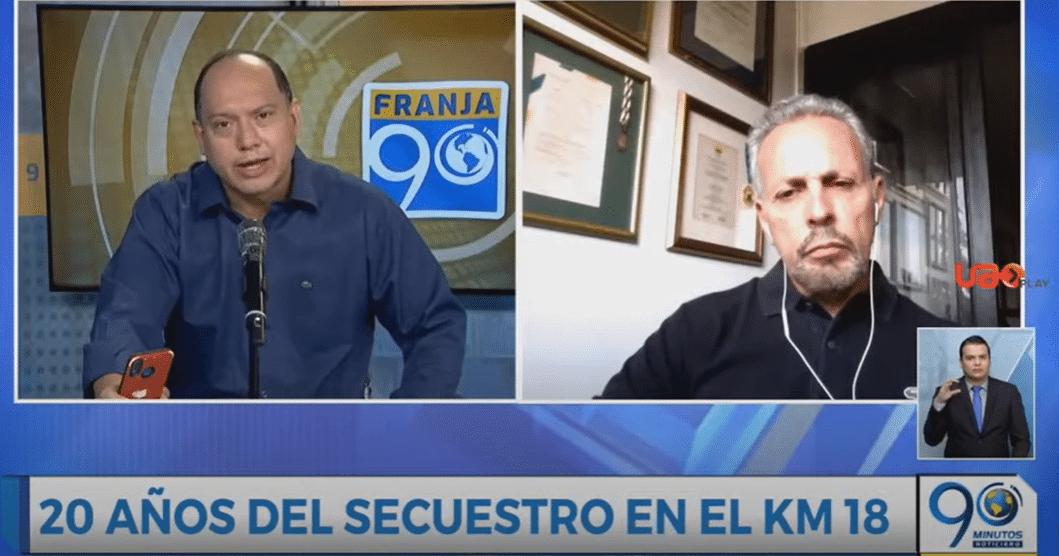 Exalcalde de Cali, Ricardo Cobo, habló de los retos que vivió frente al secuestro del km 18