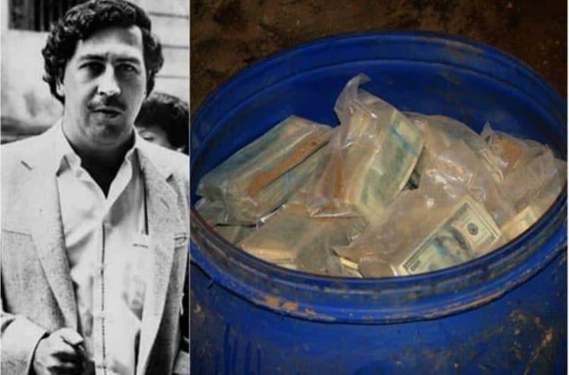 Familiar de Pablo Escobar halló una nueva caleta con gran suma de dólares en Medellín