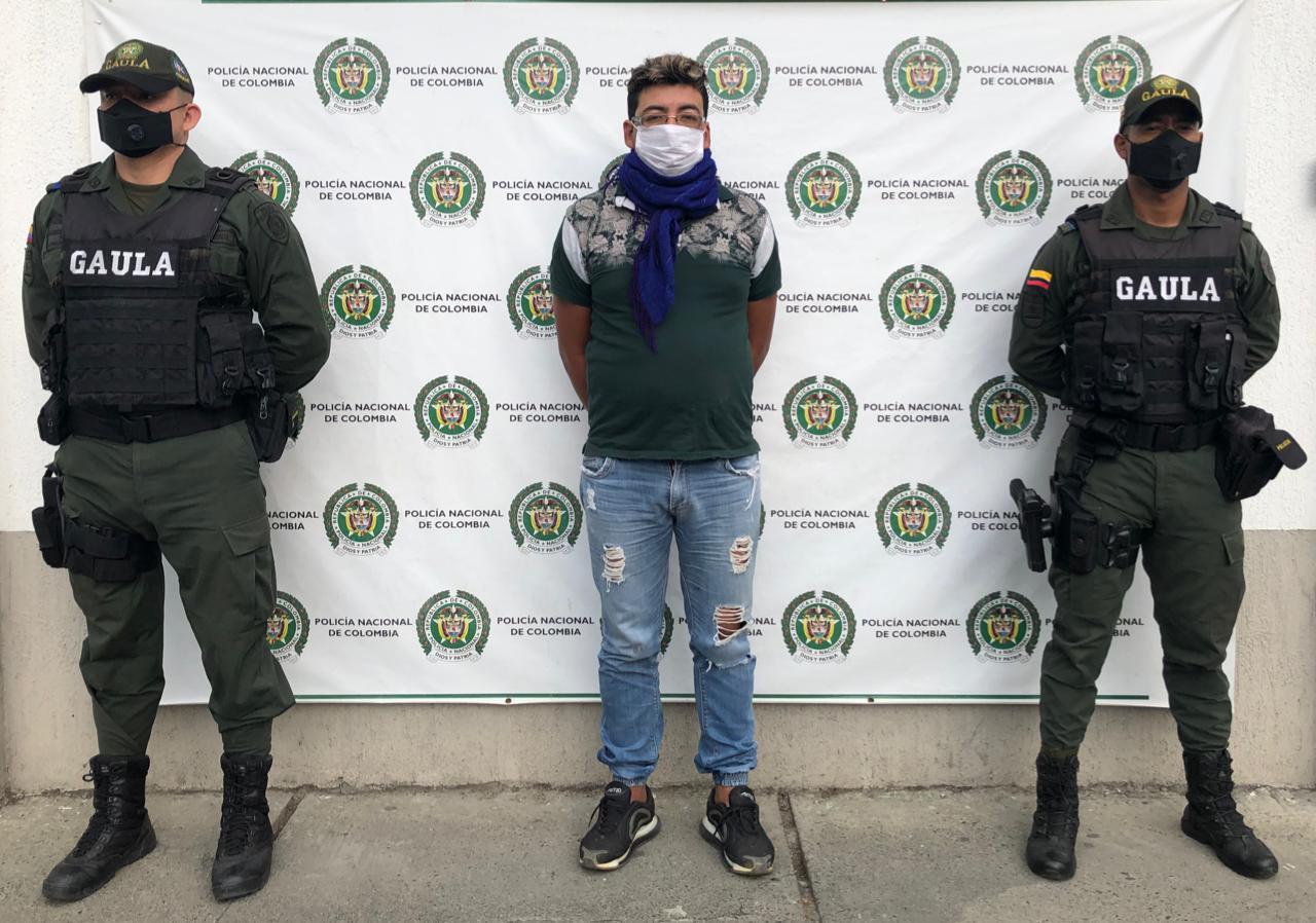 Por delito de extorsión hombre va a cárcel en Tuluá
