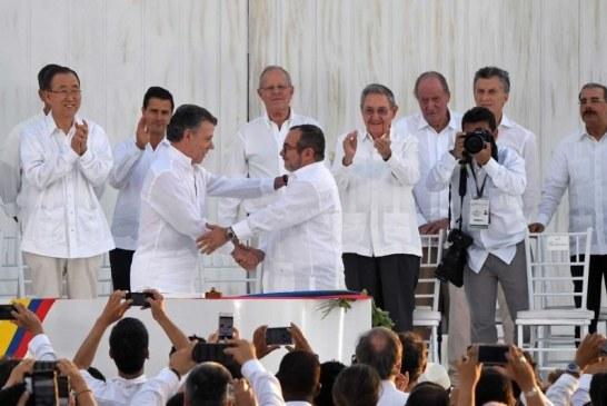 Acuerdo de paz: cuatro años de primera firma en Cartagena