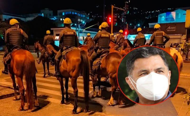 Alcalde de Cali comparte petición de no usar más caballos para controlar protestas