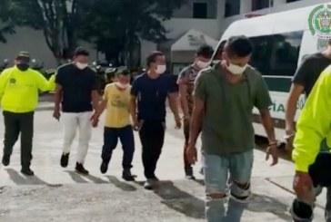 """A la cárcel cinco presuntos traficantes de la banda """"Los Gordos"""" en el Valle"""