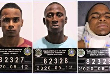 Cárcel a tres hombres señalados del crimen en Cali de un intendente de la Policía