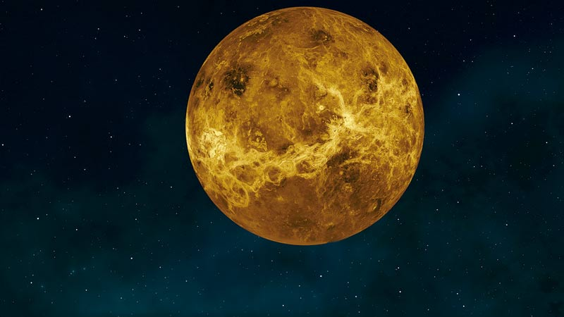 Descubren en Venus un gas que puede producirse por organismos vivos