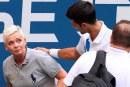 Pelotazo, descalificación y multa: el fin de semana de Djokovic en el US Open