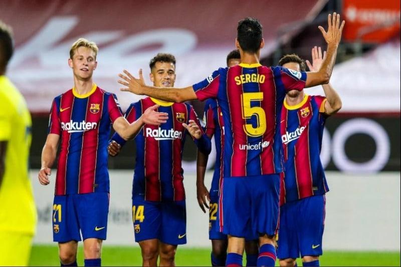 Con victoria contra el Villarreal, Barcelona de Koeman comenzó firme la Liga Española