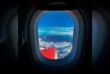 La foto desde el aire de un pasajero que marcó el retorno de la ruta Cali-Bogotá