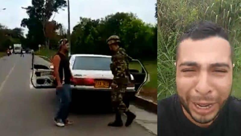 Hombre denuncia que miembro del Ejército Nacional asesinó a su pareja en vía del Cauca