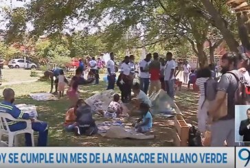 ¡Paz y reconciliación en Llano Verde! Hacen homenaje tras cumplirse un mes de la masacre