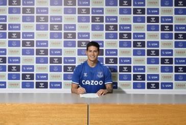 """I'm ready"": James Rodríguez hizo oficial su llegada al Everton de la Premier League"
