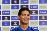 James Rodríguez se valorizó tras sus buenas actuaciones en el Everton