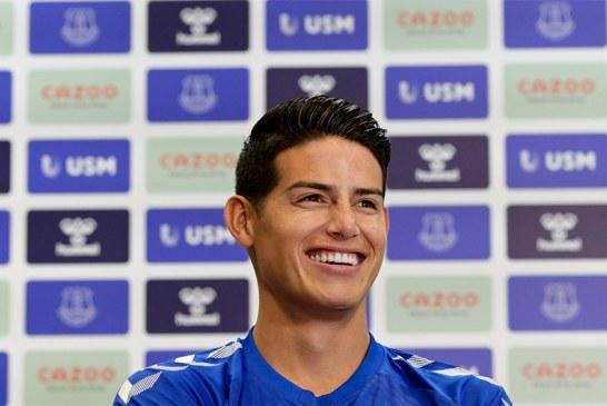 "Club Banfield aseguró que James Rodríguez llegó ""gratis"" al Everton"