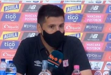 """Estoy orgulloso de dirigir estos jugadores"": Juan Cruz Real, DT del América"