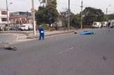 Un motociclista muerto dejó accidente de tránsito en Alfonso López