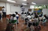 Así fue el primer día de clases en alternancia de los colegios privados en Cali